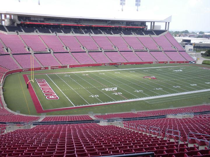 Papa John's Cardinal Stadium, University of Louisville